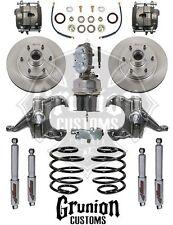 "Chevy C10 1967-1970 2.5/4 Lowering w/ 6 Lug Power Disc Brake 7"" Boost McGaughys"