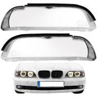 Scheinwerferglas Streuscheibe Set für BMW E39 LCI Bj. 00-04 Halogen Scheinwerfer