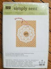 Stampin Up Simply Sent Snowflake Season Card Kit NEW RARE