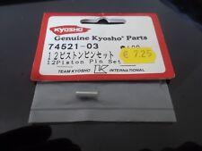 VINTAGE KYOSHO 74521-03 axe de piston + clips GX12