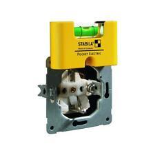 Stabila Mini-Wasserwaage Pocket Electric 7cm Stabila 70mm Kalibriert Wasser waag