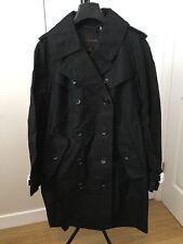Coach New York Black Trench Coat