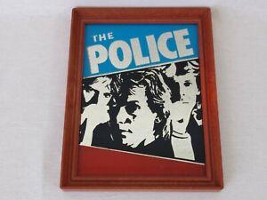 The Police Picture Mirror 9 x 7 Vintage Mirror Regatta de Blanc Sting Free Post