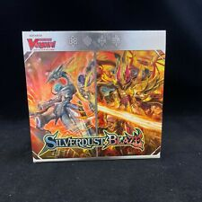 Cardfight Vanguard Silverdust Blaze BT08 Booster Box Factory Sealed English NEW