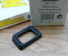 New Nikon DK-10 Rubber Eyecup - For Nikon D100 / D70 / F80 / F70 / F60...