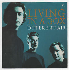 """LIVING IN A BOX - DIFFERENT AIR - 1989 UK 7"""" SINGLE with  PS   *FREE UK POSTAGE*"""