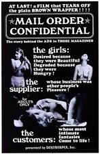 MAIL ORDER CONFIDENTIAL Movie POSTER 27x40 Michael Courtney