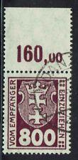 Danzig Portomarken Einzelmarke 20 X gestempelt, POR, Rarität