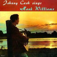 Johnny Cash - Sings Hank Williams (2016)  Limited Clear Vinyl LP  NEW SPEEDYPOST