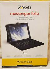 Zagg Messenger Folio 9.7 inch Ipad Pro w/ Keyboard