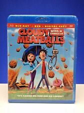 Cloudy Chance Meatballs New Unopened Movie (Blu-ray/DVD, 2010, 2-Disc Set) B810
