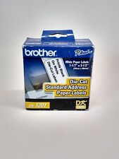 """Brother DK-1201 White Address Labels 1.1"""" x 3.5"""" 400 Roll"""
