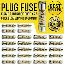 13A Domestic Fuses Plug Top Household Mains 13amp Cartridge Fuse UK seller