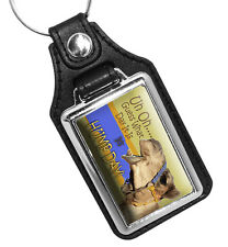 Uh Oh Guess What Day It Is, It's Hump Day Faux Leather Key Ring