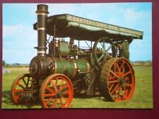 POSTCARD  FOSTER TRACTION ENGINE 5 NHP BUILT 1926