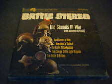 Battle Stereo, The Sounds of War,Reel-to-Reel Tape,4 Track, 7 1/2 I.P.S.,