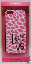 Victoria's Secret WHITE PINK LIPS Hard phone Cover Case iPhone 5 / 5S  NEW