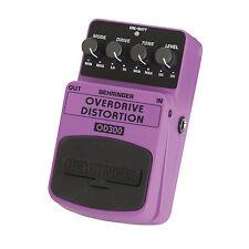 BEHRINGER OD300 OVERDRIVE DISTORTION Guitar Pedal