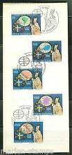 VATICAN CITY 1988  POPE JOHN PAUL II TRIPS ON OFFICIAL ANNOUNCEMENT  FD CANCELED