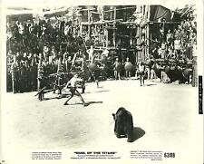 1962 Original Press Photo from Duel of the Titans Steve Reeves Fighting a Bear