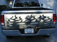 All Year Dodge Ram 2500 3500 Flame Graphic Set Stripes Decal Decals Graphics