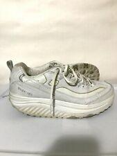 Skechers Shape Ups Walking Running Toning Shoes Womens White Size 8.5