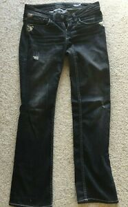 William Rast Jeans Womens Justin Timberlakes Size 8 Colour Black