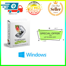💰 VueScan Pro 9.7.35 ✅Fast Delivery ✅ 🔑Lifetime Activation🔑⭐Pre activated⭐Win