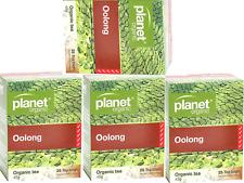 4 x 25 bags PLANET ORGANIC Organic Herbal OOLONG Tea (100 bags) BULK