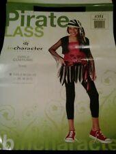 Tween Kids Punk Pirate Outfit Girls Halloween Costume