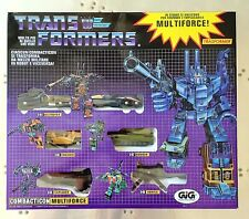 NEW TRANSFORMERS G1 Reissue COMBATICONS BRUTICUS GIFTSET MIB DECEPTICONS! METAL