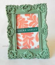Laura Ashley Photo Frame Baroque Feathered Shells In High Gloss Sage Green 4x6