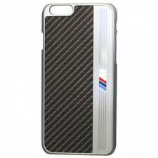 "HARD CASE FOR IPHONE 6 6S 4,7""  BMW M SPORT ALUMINIUM STRIPE BLACK NOIRE STEEL"