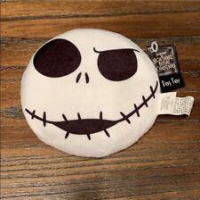 Disney The Nightmare Before Christmas Jack Skellington Squeaky Dog Toy/Frisbee