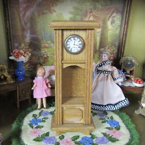 Antique Dollhouse Schneegas? GERMANY GRANDFATHER CLOCK Victorian Doll Furniture