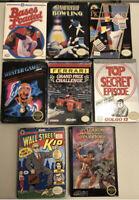 Nintendo Nes Game Lot Not All Cib Boxed Box Retro Wizards 13 Winter
