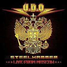 U.d.o., Steelhammer - Live From Moscow (double CD+DVD edition), New Live
