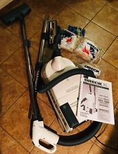 New listing Oreck Dutchtech Canister Vacuum Model Dtx1300 Excellent Used Complete -Xtra Bags