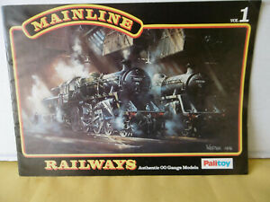Pallitoy Mainline 1977 OO Gauge Model Railway Catalogue Vol 1 and Price List