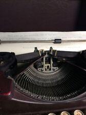 Burgandy/Red Royal Portable Typewriter Model P 1930 Great Patina