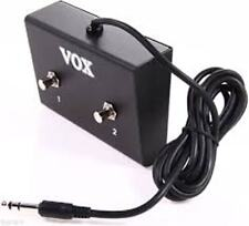 VOX VFS2 DOUBLE FOOTSWITCH FOR VALVETRONIX SERIES AMPS - BRAND NEW