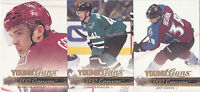 14-15 Upper Deck Joey Hishon UD Canvas Young Guns Rookie Avalanche 2014