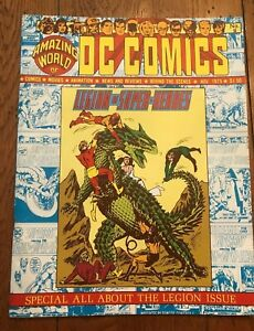 Amazing World of DC Comics #9 November 1975 Special Legion Issue HIGH GRADE!!
