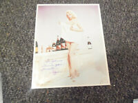 10 x 8 hot photo hand signed MARTHA HYER (1924/2014) - AFTAL COA  - dedicated