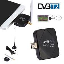 USB DVB-T DVB-T2 TV Stick Receiver Digital Tuner for Android Phone Tablet New