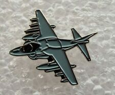 Harrier Jump Jet Plane enamel pin / lapel badge Royal Air Force RAF fighter