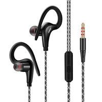 Sport Running Stereo Headphone Stereo In Ear Earbuds Headset Bass Earphone Mic