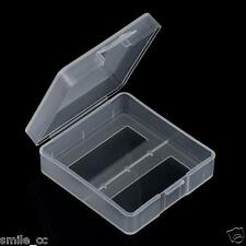 Portable Hard Plastic Case Holder Battery Storage Box for 2 x 9V Batteries