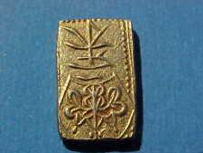1832 - 1858 GOLD JAPAN 2 SHU NISHU-GIN TEMPO ERA COIN UNCIRCULATED