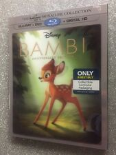 Bambi  (Blu-ray+DVD+Digital, 2017; Only @ Best Buy) NEW w/ Lenticular Slipcover